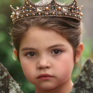 Trish Scully Royal Majesty Crown - Rose Gold